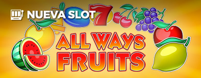 Slot All Ways Fruits