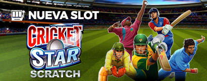 Slot Cricket Star Scratch