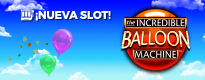 Slot The Incredible Balloon Machine