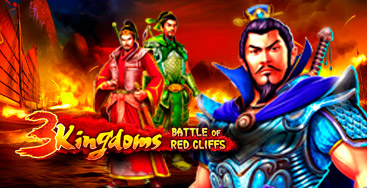 Juega a la slot 3 Kingdoms  Battle of Red Cliffs en nuestro Casino Online