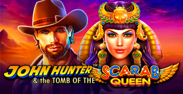 Juega a la slot John Hunter and the Tomb of Scarab Queen en nuestro Casino Online