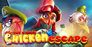 Juega a la slot The Great Chicken Escape  en nuestro Casino Online