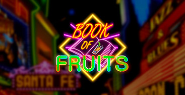 Juega a la slot Book of Fruits en nuestro Casino Online