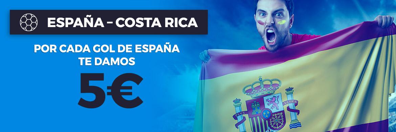 Promoción Amistoso Internacional: España – Costa Rica