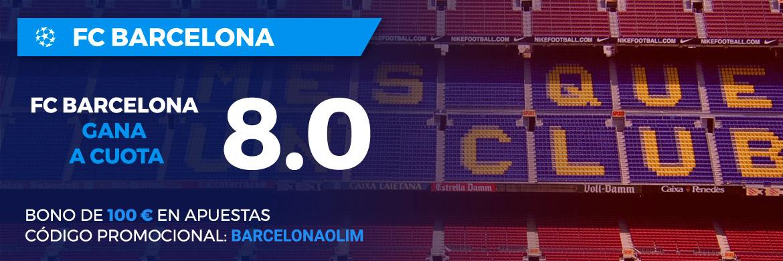 Megacuota Champions League: FC Barcelona - Olympiacos Piraeus