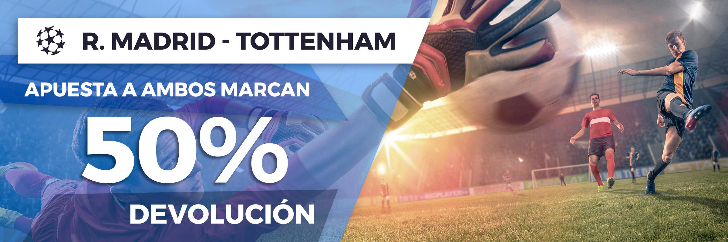 Promoción Champions League: Real Madrid - Tottenham