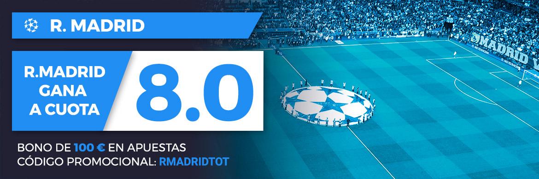 Megacuota UEFA Champions League: Real Madrid CF - Tottenham Hotspur FC