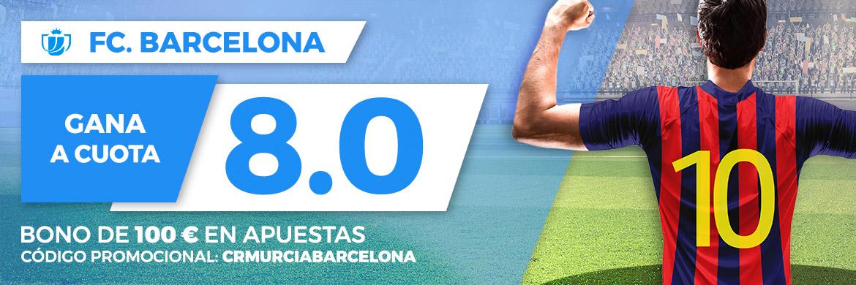 Megacuota Copa del Rey: Murcia - FC Barcelona