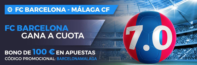 Megacuota LaLiga Santander: FC Barcelona - Málaga CF