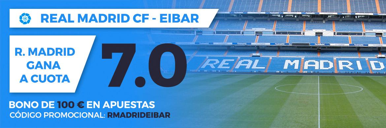 Megacuota LaLiga Santander: Real Madrid CF - Eibar