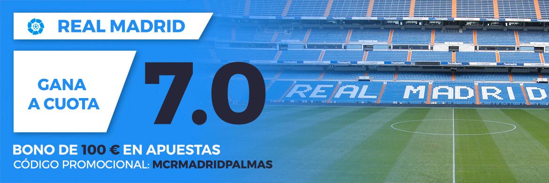 Megacuota LaLiga Santander: Real Madrid - UD Las Palmas