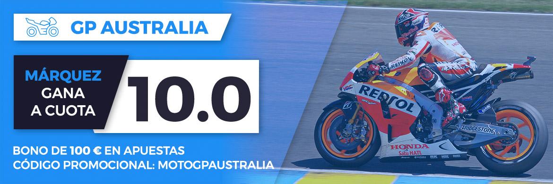 Megacuota MotoGP: GP Australia (Márquez) 2017