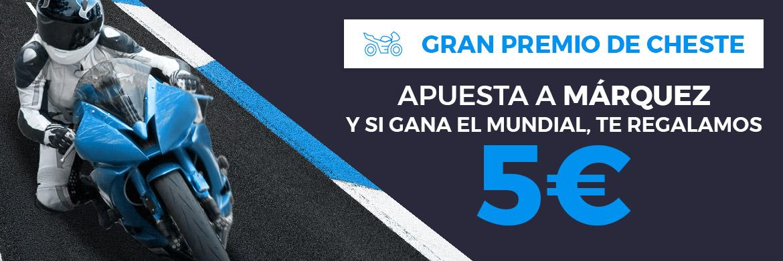 Promoción MotoGP Cheste (Márquez)